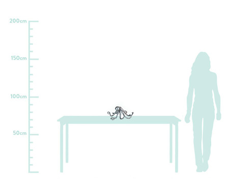 Adorno Decorativo de Resina Turner - Prateado | WestwingNow