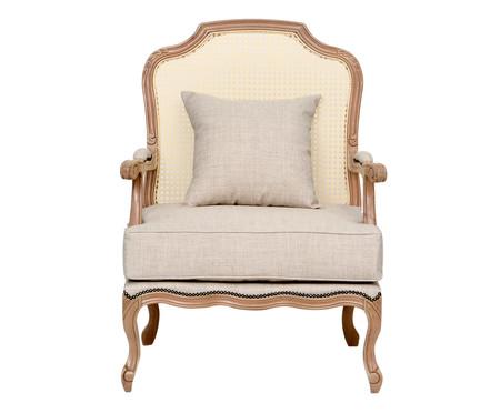 Cadeira em Linho com Tela Imperial - Cru | WestwingNow
