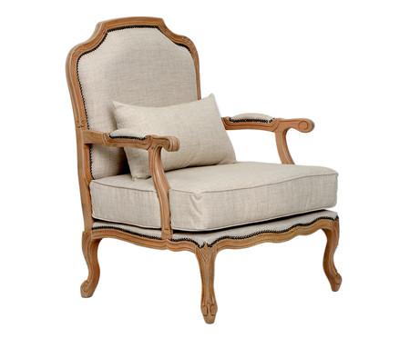 Cadeira em Linho Imperial - Cru | WestwingNow