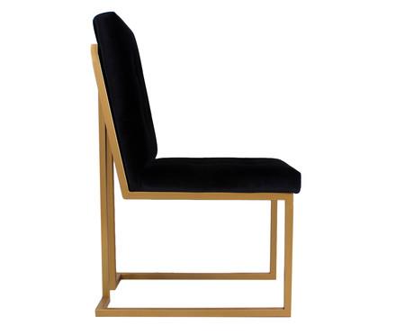 Cadeira em Veludo Prince - Preta | WestwingNow