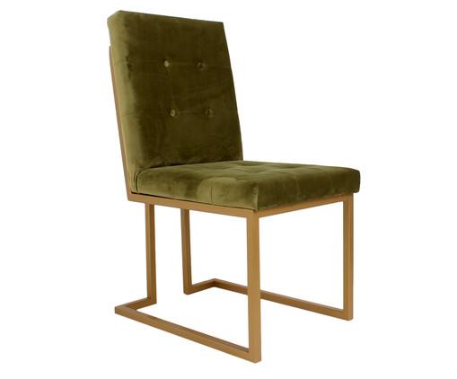Cadeira em Veludo Prince - Verde, verde | WestwingNow