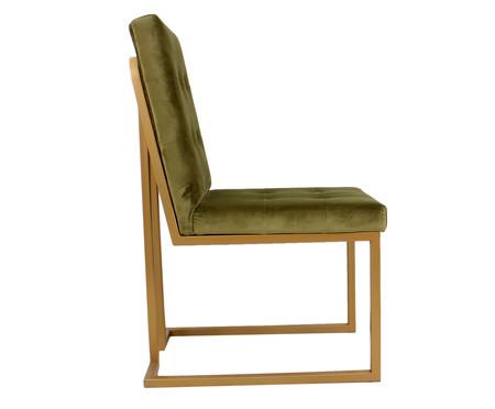 Cadeira em Veludo Prince - Verde | WestwingNow