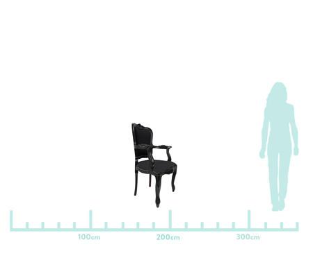 Cadeira em Seda Luís XV Salle - Preta   WestwingNow