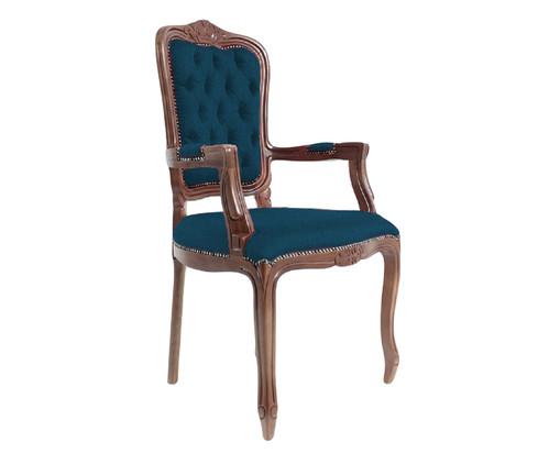 Cadeira Luiz Xv Telian Capitonê, azul   WestwingNow