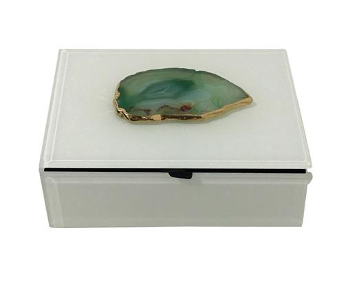Caixa Decorativa Emmanuelle - Branca, Branco | WestwingNow