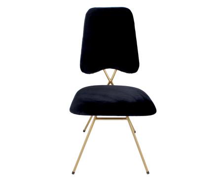 Cadeira em Veludo Londres - Preta | WestwingNow