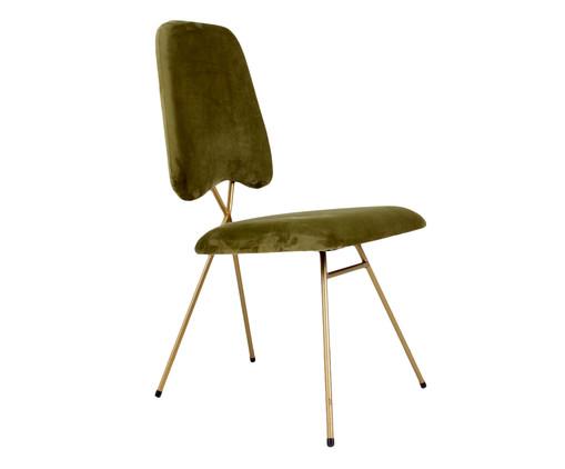 Cadeira em Veludo Londres - Verde, verde | WestwingNow