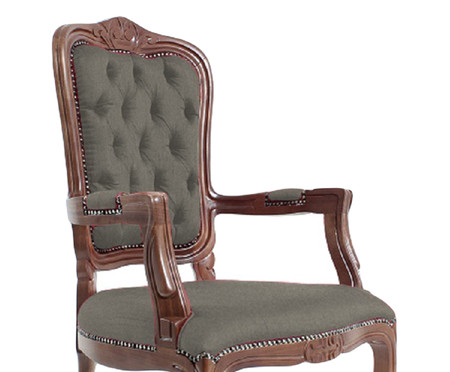 Cadeira Luis XV Telian Capitonê | WestwingNow