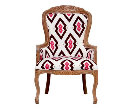 Cadeira em Linho Vitoriana Classy Leanna | WestwingNow