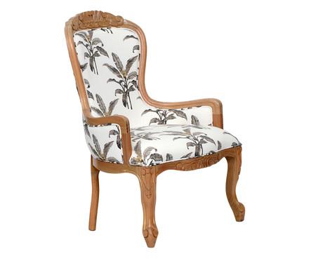 Cadeira em Linho Vitoriana Classy Nature | WestwingNow
