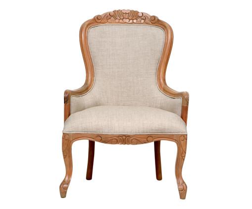 Cadeira em Linho Vitoriana Classy, bege | WestwingNow
