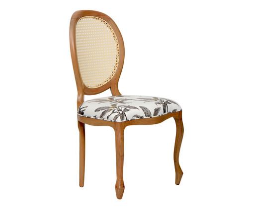 Cadeira em Linho Medalhão Nature, multicolor   WestwingNow