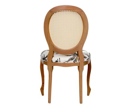 Cadeira em Linho Medalhão Nature | WestwingNow