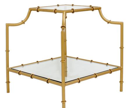 Mesa Lateral Chinoiserie - Dourado   WestwingNow