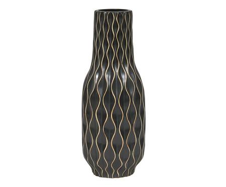 Vaso de Cerâmica Ivone - Preto | WestwingNow