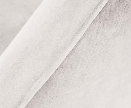 Poltrona Belle em Veludo - Cru e Natural | WestwingNow