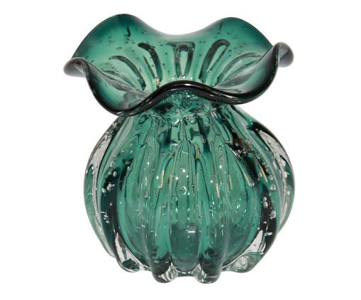 Vaso de Vidro Fá - Verde, Verde | WestwingNow