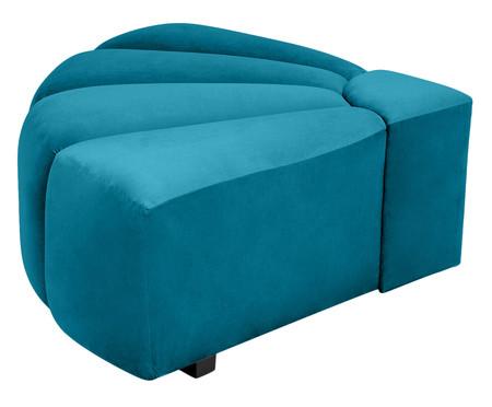 Módulo Semi para Sofá Bud - Azul Pavão | WestwingNow