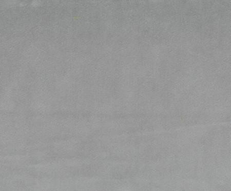 Pufe Belle em Veludo - Cinza e Natural | WestwingNow