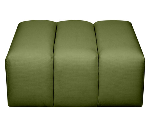 Pufe Bud Módulo Tramê - Oliva, verde | WestwingNow