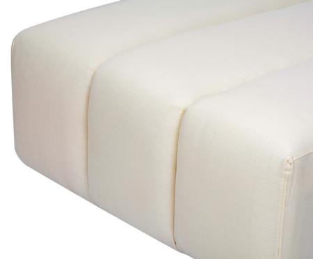 Módulo pufe sofá bud em Tramê - Natural | WestwingNow