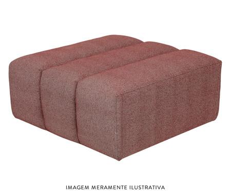 Módulo pufe sofá bud Denim - Café | WestwingNow