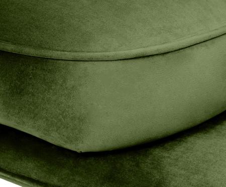 Sofá All In em Veludo - Verde | WestwingNow