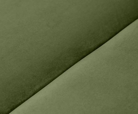 Pufe Bud Módulo em Veludo - Verde | WestwingNow