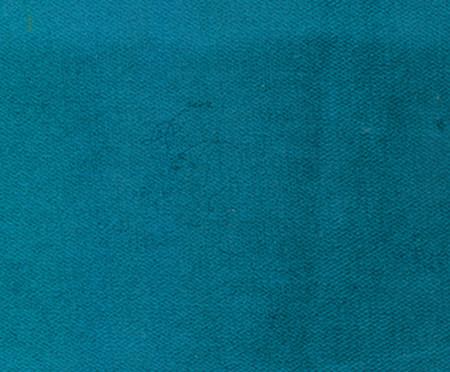 Pufe Belle em Veludo - Azul Pavão e Dourado | WestwingNow