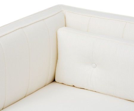 Sofá Day Bed Bergamo Tramê - Natural | WestwingNow
