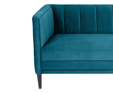 Sofá Day Bed Fasano em Veludo - Azul Pavão | WestwingNow
