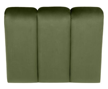 Módulo com Encosto para Sofá Bud em Veludo - Verde | WestwingNow