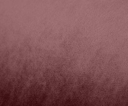 Módulo com Encosto para Sofá Bud em Veludo - Rosa Chá | WestwingNow