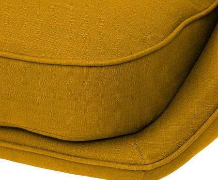 Sofá Belle Tramê - Mel e Dourado | WestwingNow