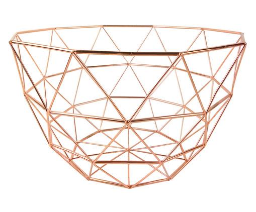 Fruteira de Metal Asier - Acobreado, Rosé | WestwingNow