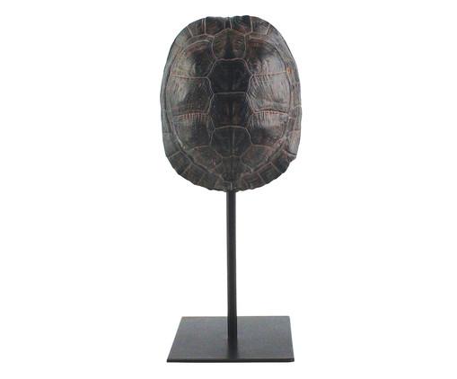 Adorno Decorativo em Resina Tartaruga Watson - Preto, Preto | WestwingNow