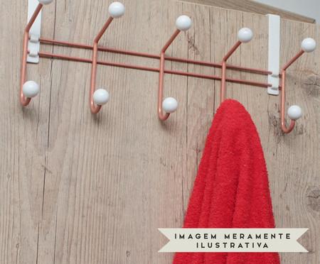 Cabideiro Hennef - Branco e Acobreado | WestwingNow