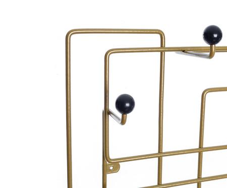 Cabideiro Sinzig - Dourado e Preto | WestwingNow