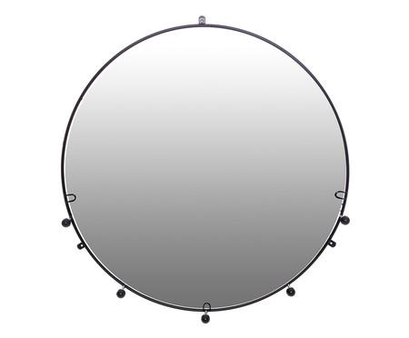 Espelho Cabideiro Esferas - Preto | WestwingNow