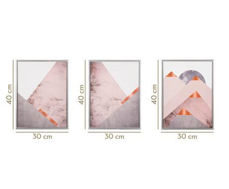 Jogo de Quadros Forms & Pyramides   WestwingNow