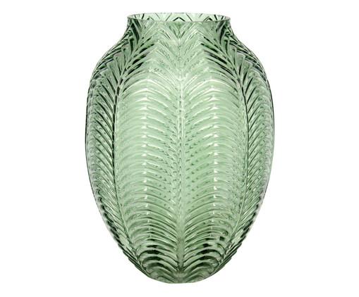 Vaso de Vidro Lucas - Verde, Verde | WestwingNow