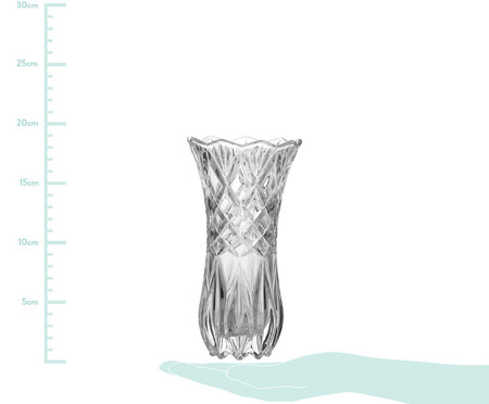 Vaso de Vidro Bárbara - Transparente | WestwingNow