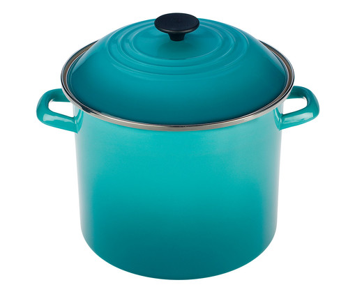 Stock Pot em Aço - Azul Caribe, azul | WestwingNow