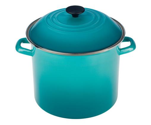 Stock Pot de Aço - Azul Caribe, azul   WestwingNow