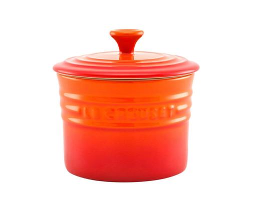 Pote para Condimentos em Cerâmica - Laranja, Laranja   WestwingNow