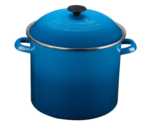 Stock Pot de Aço - Azul Marseille, azul | WestwingNow