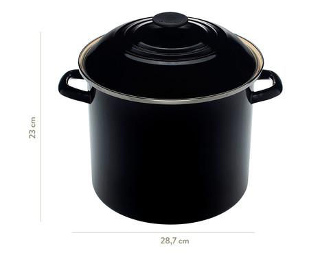 Stock Pot de Aço - Black Onix | WestwingNow