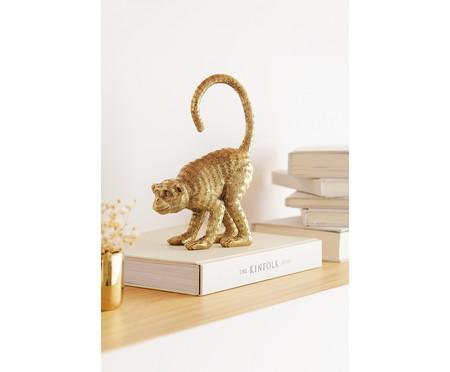 Escultura Macaco - Dourado | WestwingNow