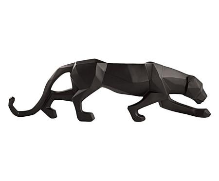 Escultura Leopardo - Preto | WestwingNow