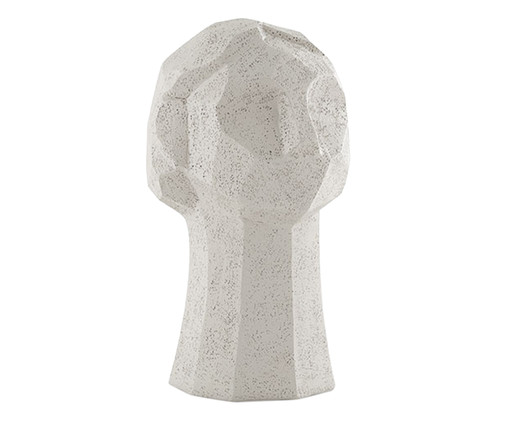 Escultura Face, Off White | WestwingNow